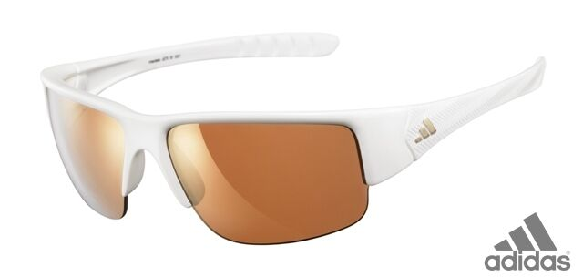 Adidas A379 00 Mactelo 6051 Frames Shiny White Authentic Sunglasses