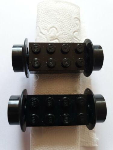 Lego Achse 2 Räder 4180c01 Achsstein 2x4 Eisenbahn für Set 7745 7740 7730 usw