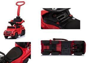 Verbraucher Zuerst Kinderfahrzeuge Bobby Car Rutschauto Mercedes Benz G63 Amg 4in1 Kinderauto Rutscher Lizenz Rot