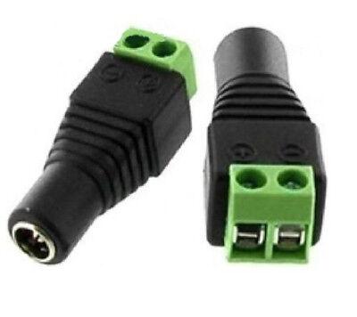 5.5mmx2.1mm 1 Femmina A 2 Maschio Adattatore Cavo Di Alimentazione DC Splitter Per Telecamera CCTV