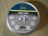H&n Sniper Light .177 Cal. Pellets 500 Ct 7.5 Grains Precision Distance Germany