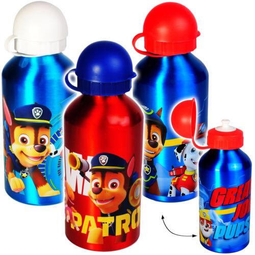 """fü 500 ml aus Aluminium /"""" Paw Patrol Aluflasche // Trinkflasche Hunde /"""""""