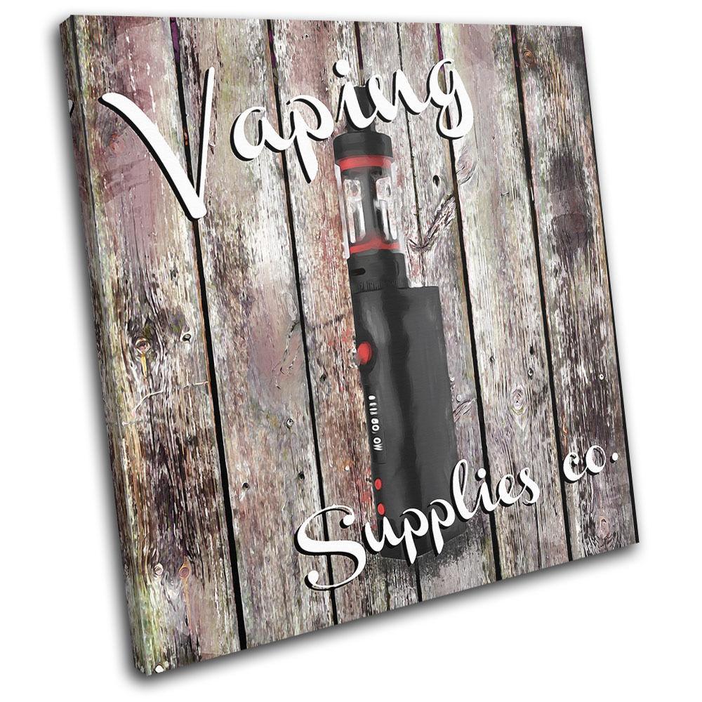 Shabby Chic Vaping Vintage SINGLE LONA  pa rojo  LONA arte Foto impresion 365341