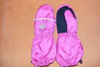 Gehorsam Neu Ski-fausthandschuhe-schneehandschuhe Für Mädchen Knitterfestigkeit