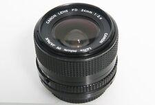 Canon FD 24mm f2.8 Lens Bayonet Mount