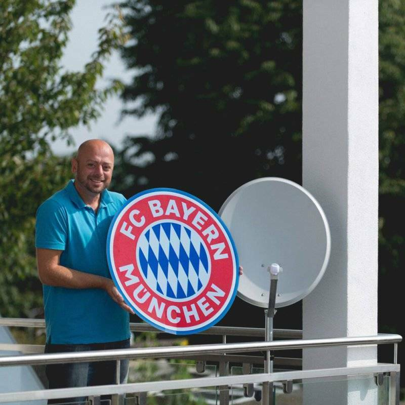 FANSAT FC Bayern München München München SATCOVER NEU 109625 8fe9bc