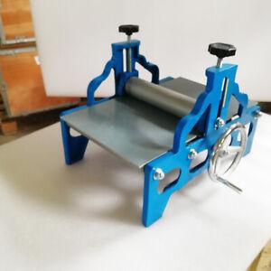 Intbuying Slab Roller Printmaking Machine Clay Portable Tabletop No Shims Set