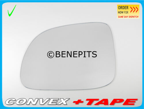 For CHEVROLET CAPTIVA 2006-2011 Left Side Wing Mirror Glass Convex TAPE //366