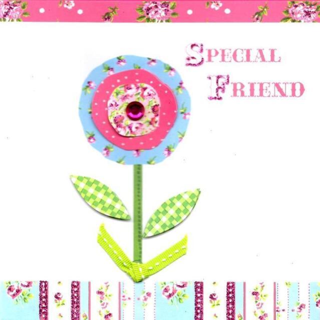 Special Friend Pretty Birthday Card Everything Rosie Greeting Cards