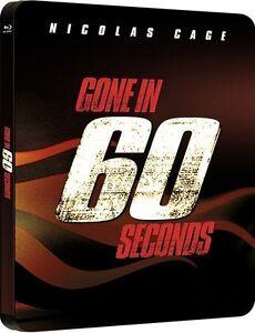 NUR-NOCH-60-SEKUNDEN-Nicolas-Cage-Blu-ray-Disc-Steelbook-U-K-NEU-OVP