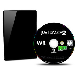 Nintendo-Wii-Jeu-Just-Dance-2-sans-Emballage-D-039-Origine-sans-Manuel-B