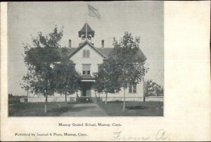 Moosup-CT-Graded-School-c1905-Postcard