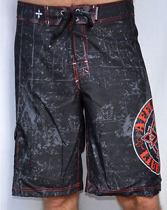 9cb08b85ef Image is loading Affliction-ROYAL-CHROMATIC-Men-039-s-Boardshorts-Swim-