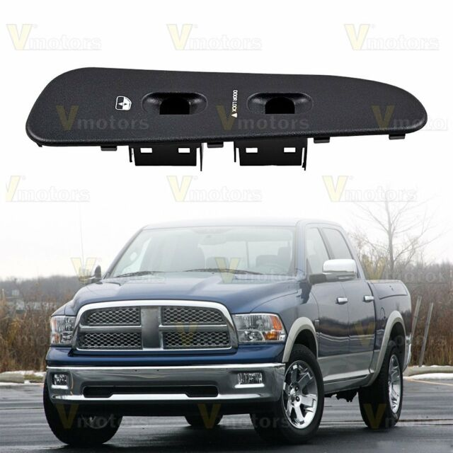 Door Panel Window Switch Bezel RH Passenger For 02-05 Dodge Ram 1500 2500 3500