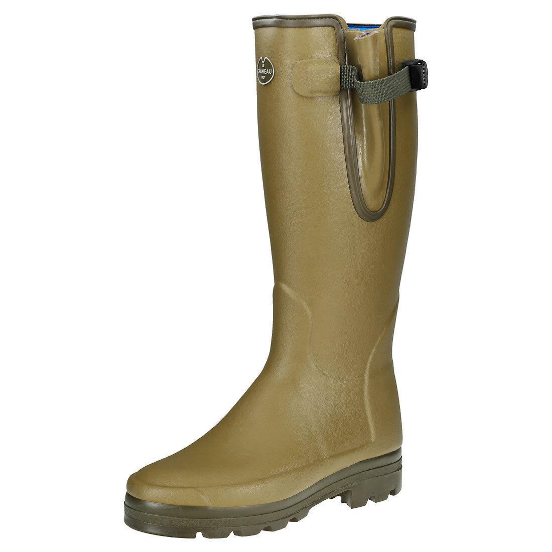 Le Chameau Vierzonord M para Hombre botas Wellington Goma verde - 42 de la UE