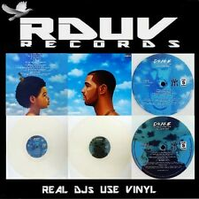 "DRAKE - NOTHING WAS THE SAME - 2 LP Clear VINYL 12"" ALBUM - 500 Worldwide"