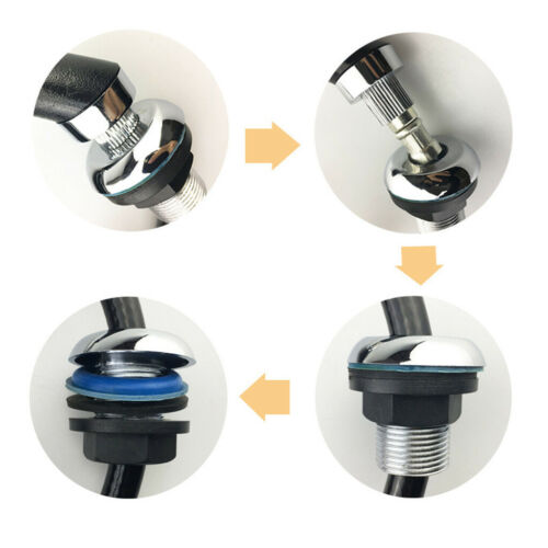 Professionelle Handbrause Armatur mit Brauseschlauch Friseurarmatur Set