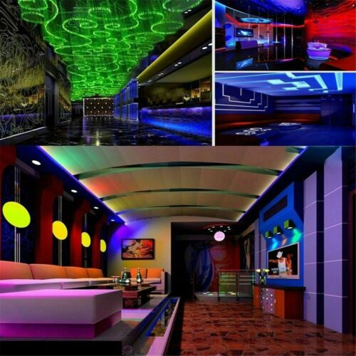 1m-10m 5050 RGB 60led//m LED Strip Lights Colour Changing Tape Kitchen Lighting