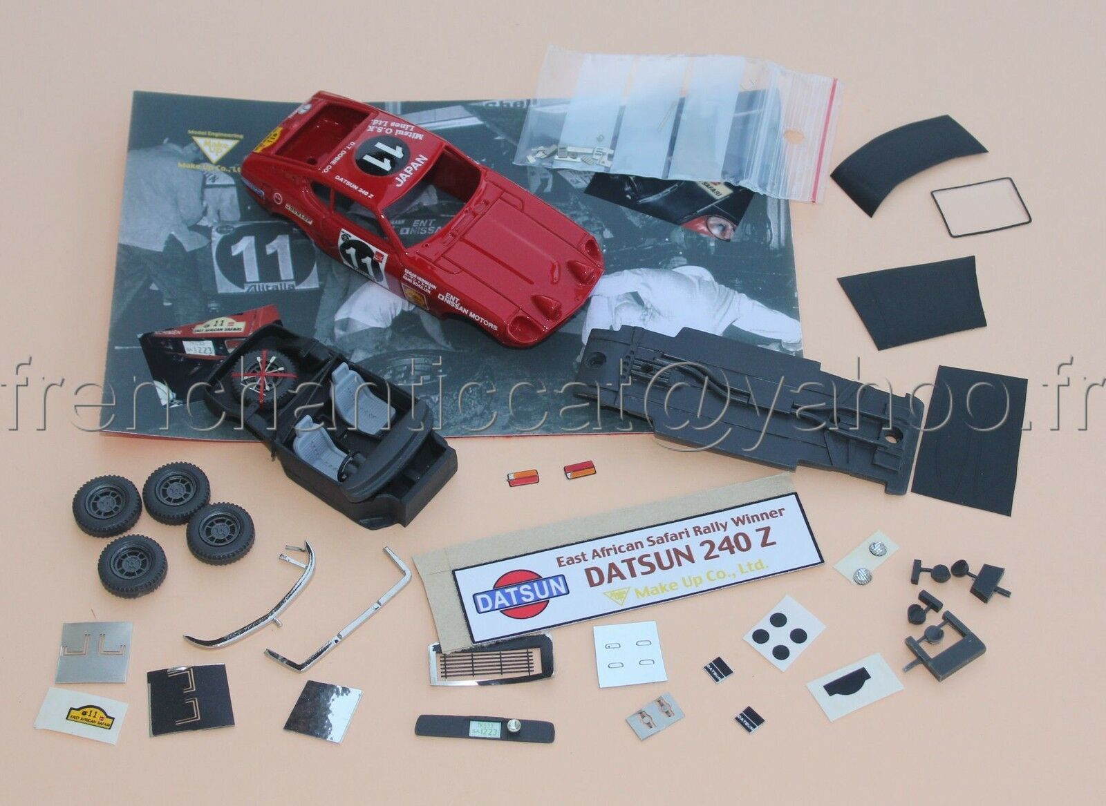 WH Voiture DATSUN 240 Z Safari 1971 1 43 Heco Heco Heco miniatures Provence moulage resine ee1043