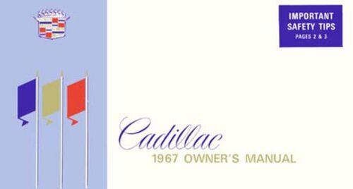 Bishko OEM Maintenance Owner/'s Manual Bound for Cadillac All Models 1967
