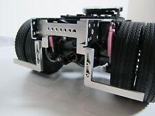 Pair Custom Aluminum Fender Frame Mount relocate bracket for Tamiya 1/14 Semi