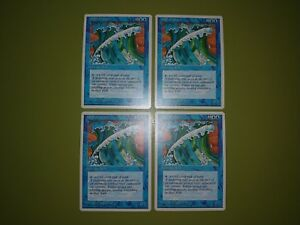 Wall-of-Water-x4-Fourth-Edition-4th-4x-Playset-Magic-the-Gathering-MTG