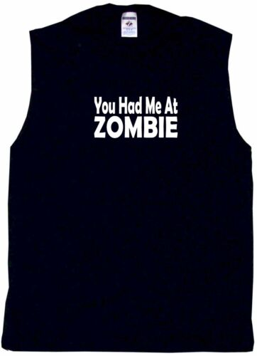 6XL You Had Me At Zombie Mens Tee Shirt Pick Size /& Color Small