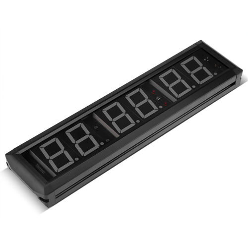 2.3/'/' Programmable LED Interval Timer Large Stopwatch Home Gym Fitness Clock