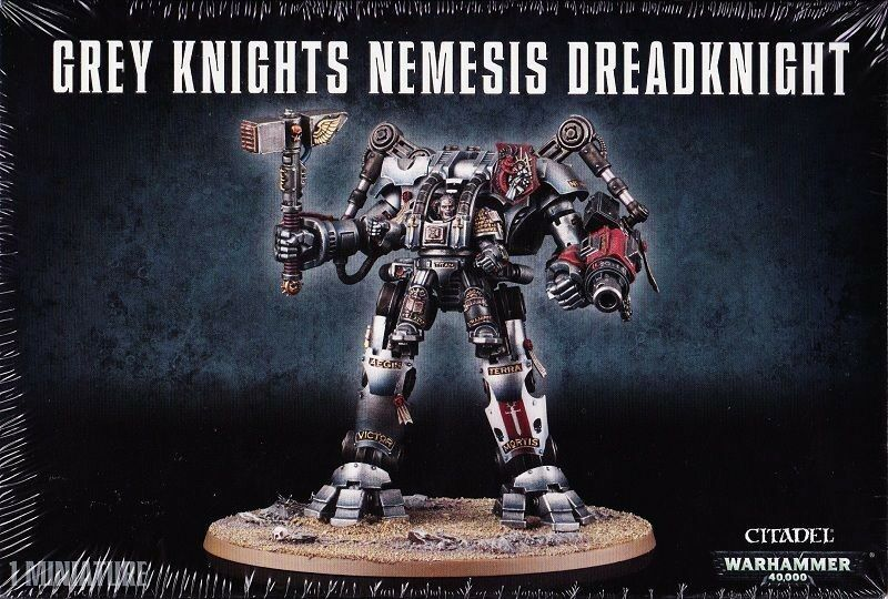 Nemesis ritter der graue ritter dreadknight games workshop 40k 57-10 ritter