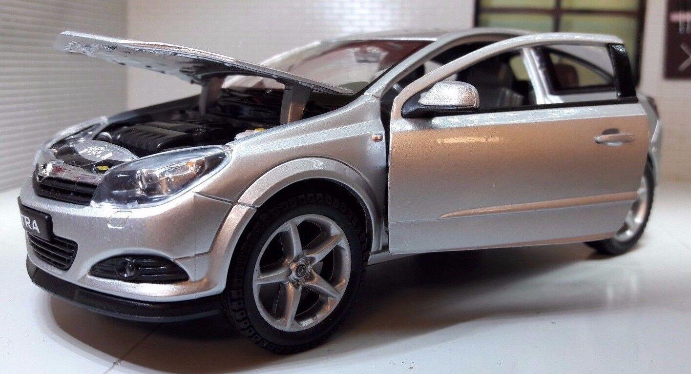 G LGB 1 24 Echelle Vauxhall Opel Astra GTC Vxr Argent 22469 Voiture Miniature