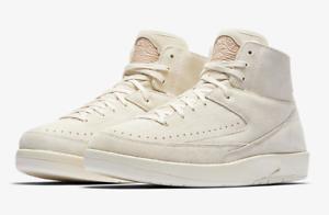 Nike Air Jordan 2 Decon Retro Sail / Beige Uomo's Sz 8.5 ( 897521-100 ) New