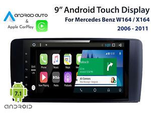 Mercedes-Benz-W164-ML-X164-GL-Class-Apple-CarPlay-amp-Android-Auto-audio-upgrade