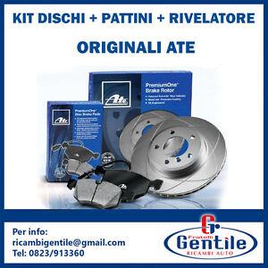 KIT-ATE-DISCHI-PATTINI-RILEVATORE-ANT-BMW-5-E60-05-10-520-d-120KW-163CV-1995CC