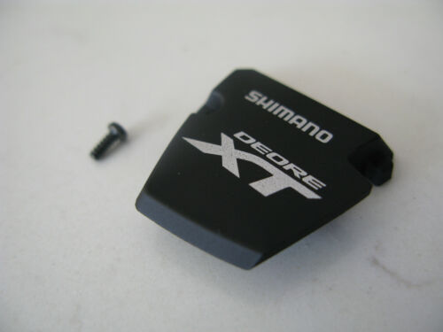 Shimano M8000 XT gear shifter indicator cover blanking plate with screw