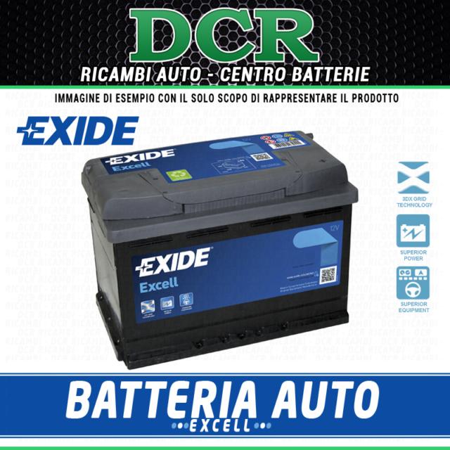 Batteria auto EXIDE EB605 CHEVROLET DODGE HONDA HUMMER HYUNDAI KIA LEXUS MAZDA M