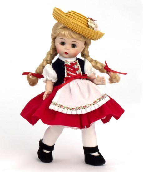 Heidi  de la colección Storyland por Madame Alexander