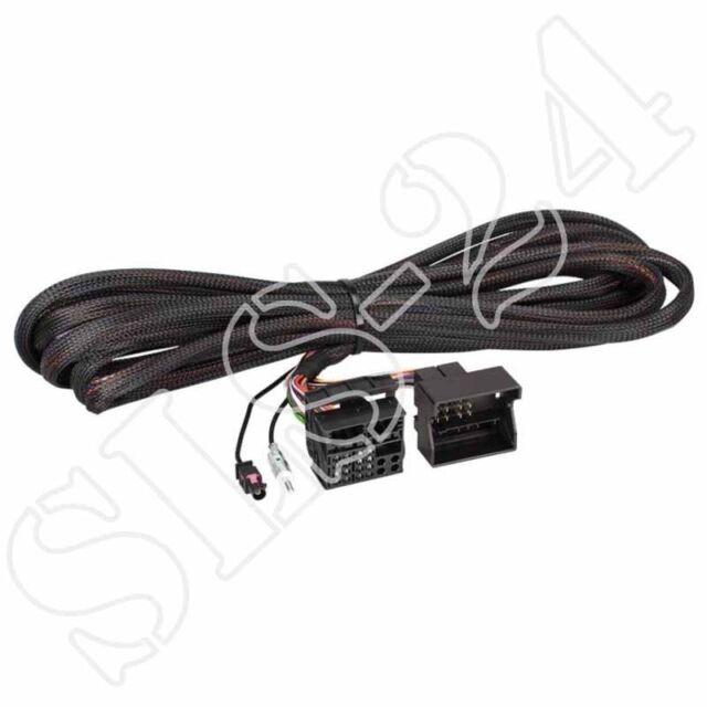 BMW 40 FlachPIN Radio Verlängerung Kabel 6,5m inklusive 1503-00 ACV 1024-25-6500