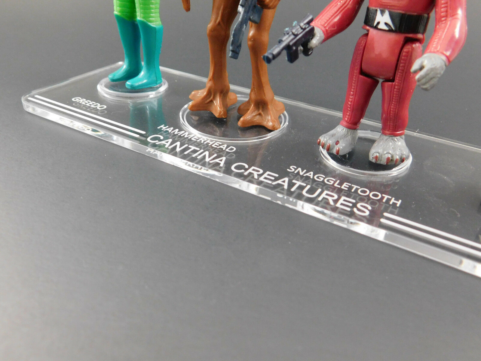 1 x Stand Synergy-Vintage Star Wars Cantina alieni STAND Stand SOLO