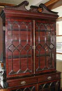 MUST-GO-SPACE-NEEDED-WAS-2850-Fabulous-Antique-Bookcase-OFFERS