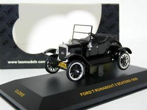 Ixo-CLC012-1-43-1925-Ford-T-Runabout-Diecast-Model-Car