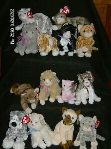 Ty Beanie Babies Cats Nice Variety 1997 through 2006 New