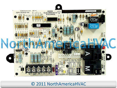 details about carrier bryant payne furnace control board hk42fz034