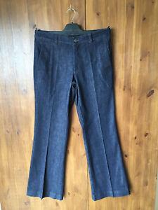 RRP-119-POETRY-Jeans-Firmati-Gamba-Bootcut-Blu-scuro-UK-10-12-16-NUOVO