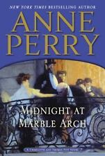 BUY 2 GET 1 FREE Midnight at Marble Arch 28 by Anne Perry (2013 Hardcover)
