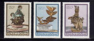 LUXEMBURGO-LUXEMBOURG-1990-MNH-SC-838-840-Fountaints