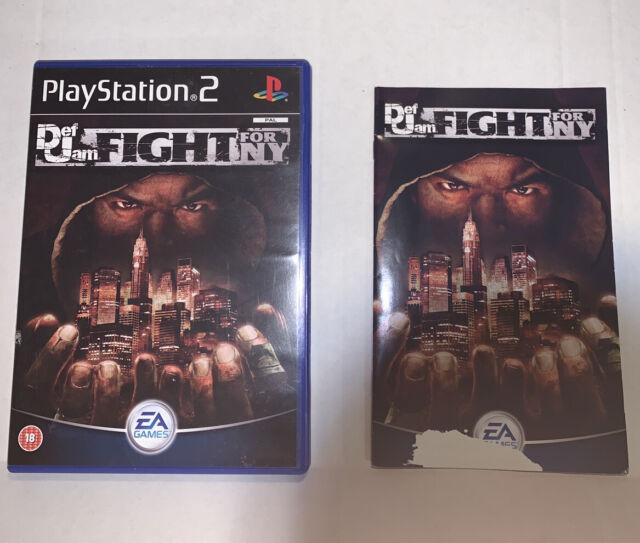 Def Jam Fight for NY Playstation PS2 PAL VERSION New York region locked