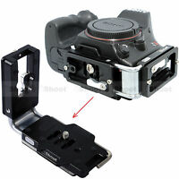 L Vertical Quick Release Plate for Arca Ballhead Sony a99 a77 a65 a58 a57 Camera
