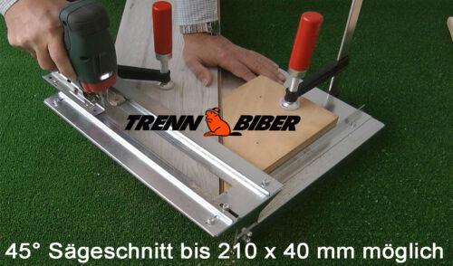 Trenn-Biber 012+5 Stichsägeblätter f Stichsägen Laminat weiß schneiden Tischsäge