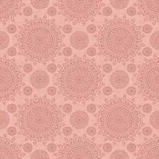 QT Thimble Pleasures by Dan Morris 24162 P Pink Measuring Tape Cotton FabricBTY