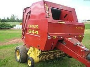 new holland round baler 644 654 664 workshop service manual ebay rh ebay com new holland 644 round baler service manual new holland 644 round baler manual
